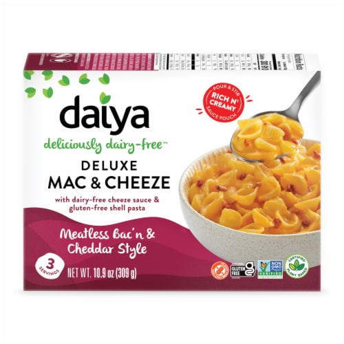 Daiya Bac'n & Cheddar Style Deluxe Cheezy Mac Perspective: front