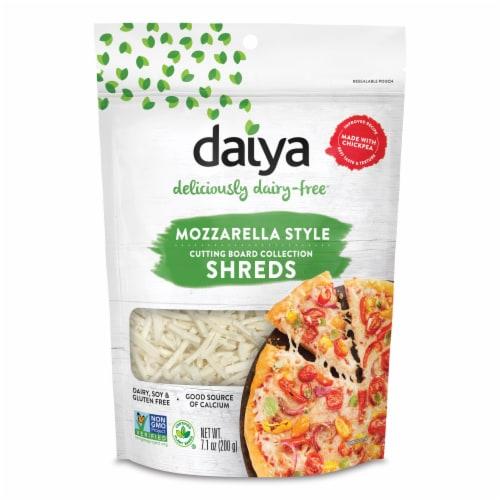Daiya Dairy Free Mozzarella Style Shreds Perspective: front