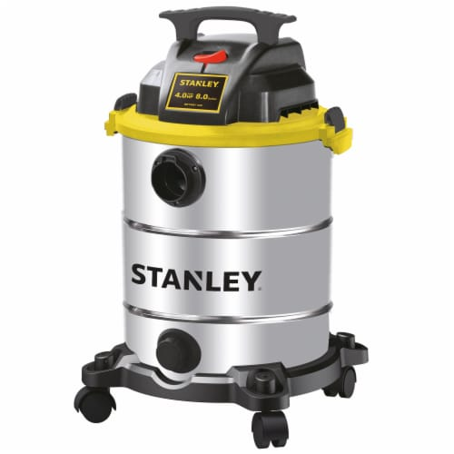 Stanley® Portable Stainless Wet/Dry Vacuum Perspective: front