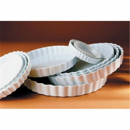 Pillivuyt Round Tart Dish - 9.25 Inch Perspective: front