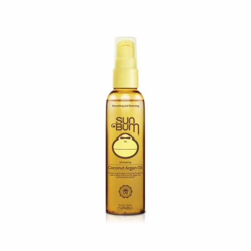 Sun Bum Revitalizing Coconut Argan Oil Perspective: front