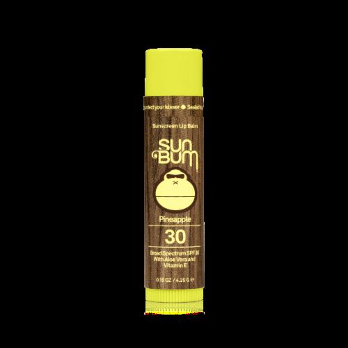 Sun Bum Pineapple Sunscreen Lip Balm SPF 30 Perspective: front