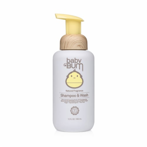 Baby Bum Natural Fragrance Shampoo & Wash Perspective: front
