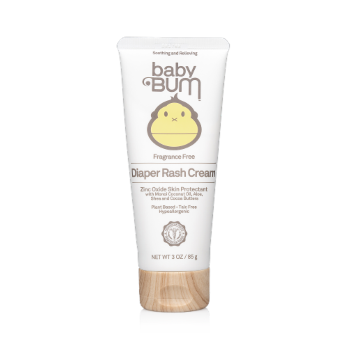Baby Bum Fragrance Free Diaper Rash Cream Perspective: front