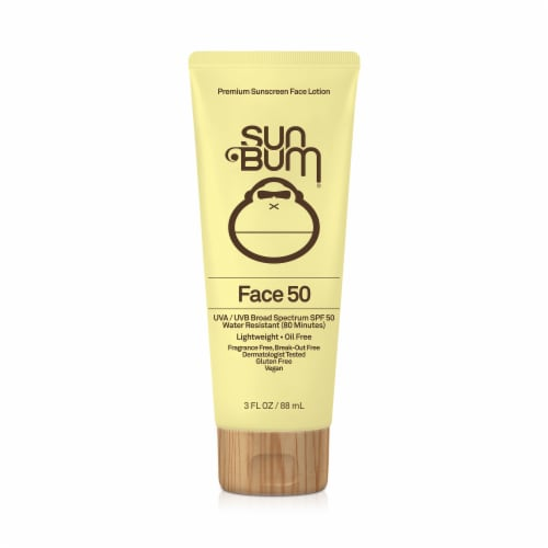 Sun Bum Face 50 Sunscreen Lotion SPF 50 Perspective: front