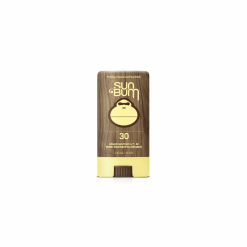Sun Bum Premium Sunscreen Face Stick SPF 30 Perspective: front
