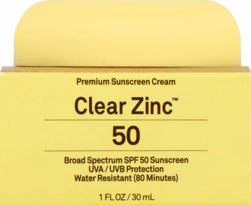 Sun Bum Clear Zinc Sunscreen SPF 50 Perspective: front