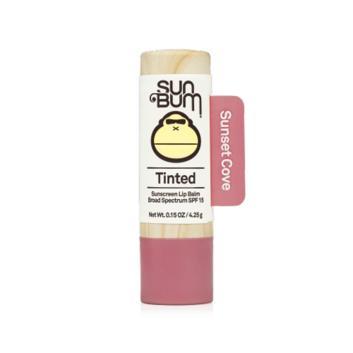 Sun Bum Sunset Cove Tinted Lip Balm SPF 15 Perspective: front