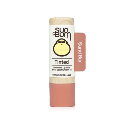 Sun Bum Sand Bar Tinted Sunscreen Lip Balm SPF 15 Perspective: front