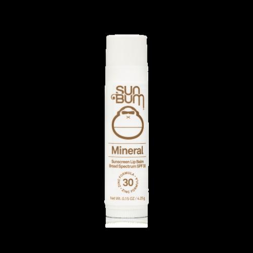 Sun Bum Mineral Sunscreen Lip Balm SPF 30 Perspective: front