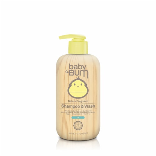 Baby Bum Natural Fragrance Shampoo & Wash Gel Perspective: front