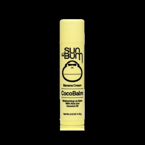 Sun Bum Banana Cream CocoBalm Lip Balm Perspective: front