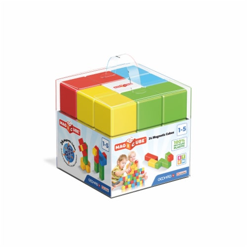 Geomag™ Magicube™ Magnetic Cube Set Perspective: front