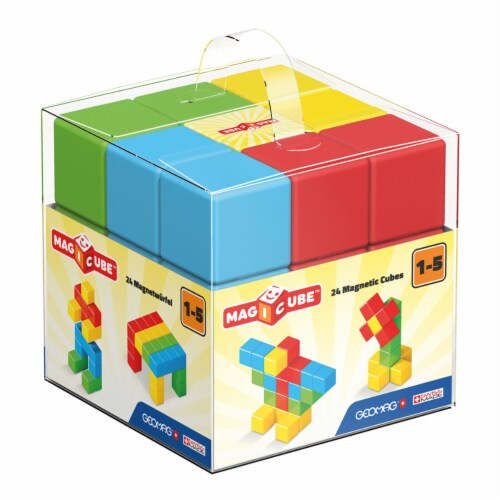 Geomagworld USA GMW148 Magicube 24 Blocks Perspective: front