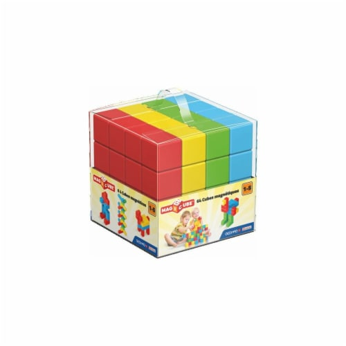 Geomagworld USA GMW149 Magicube 64 Blocks Perspective: front