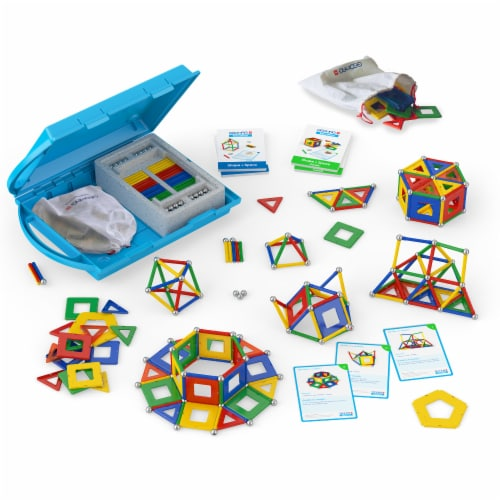 Geomag Shape & Space Panels Education Kit Perspective: front