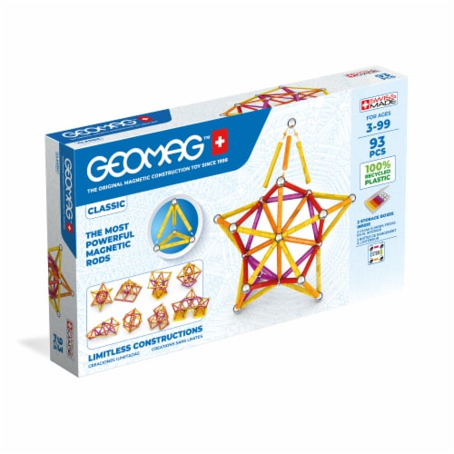 Geomag™ Classic Magnetic Construction Toy Perspective: front