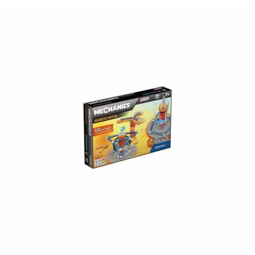 Geomagworld USA GMW761 Mechanics Magnetic Motion Set, 86 Piece Perspective: front