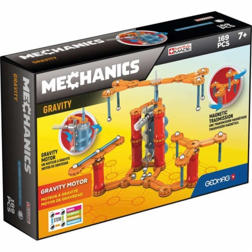 Geomagworld USA GMW773 Mechanics Gravity Set with Gravity Motor Perspective: front