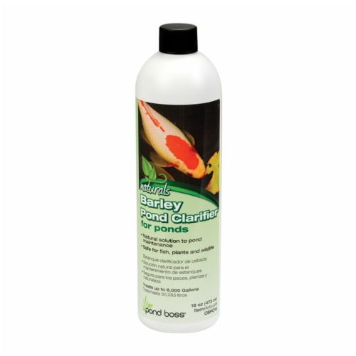 Pond Boss® Naturals Barley Pond Clarifier Perspective: front