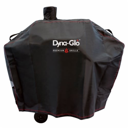 Dyna-Glo Premium Medium Charcoal Grill Cover Perspective: front