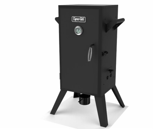 Dyna-Glo 30-Inch Analog Electric Smoker Perspective: front