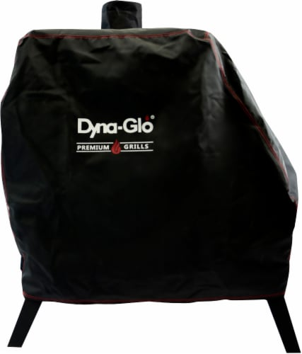 Dyna-Glo Premium Vertical Offset Charcoal Smoker Cover Perspective: front