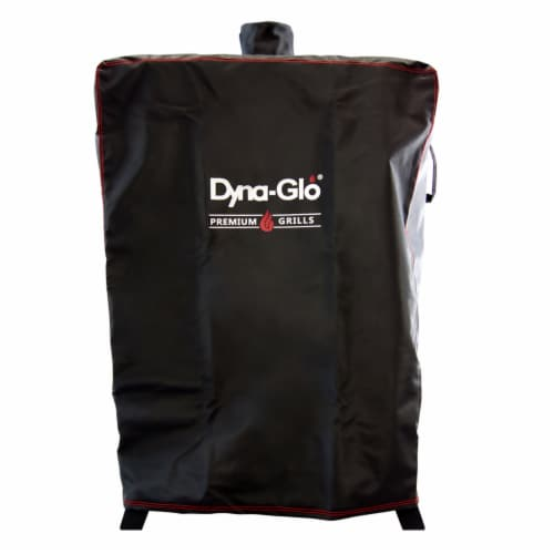 Dyna-Glo Premium Wide Body Vertical Smoker Cover Perspective: front
