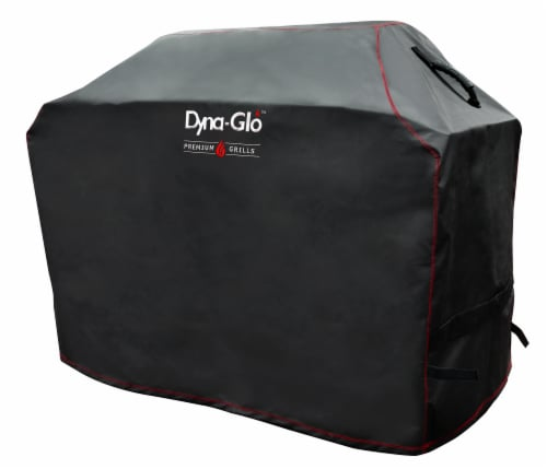 Dyna-Glo Premium Grill Cover - Black Perspective: front