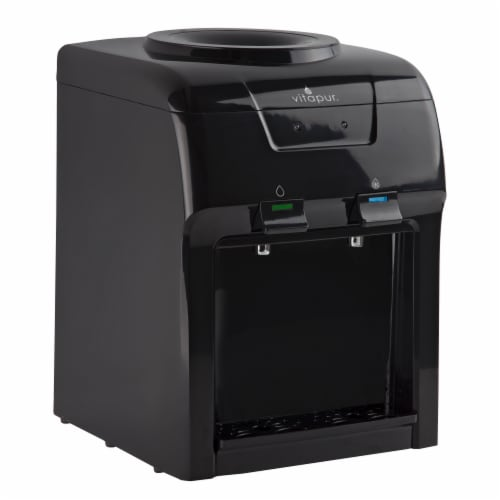 Vitapur Countertop Water Dispenser - Black Perspective: front