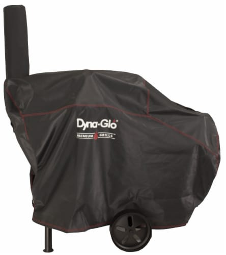 Dyna-Glo Barrel Charcoal Grill Cover Perspective: front