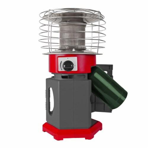 Dyna-Glo 10K BTU HeatAround 360 Heater - Red Perspective: front