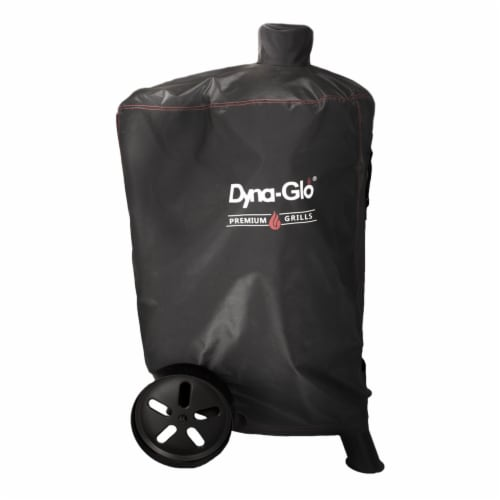 Dyna-Glo Premium Vertical Smoker Cover Perspective: front