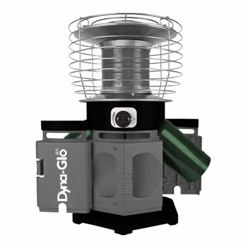 Dyna-Glo® HeatAround 360 Elite Heater - Black Perspective: front
