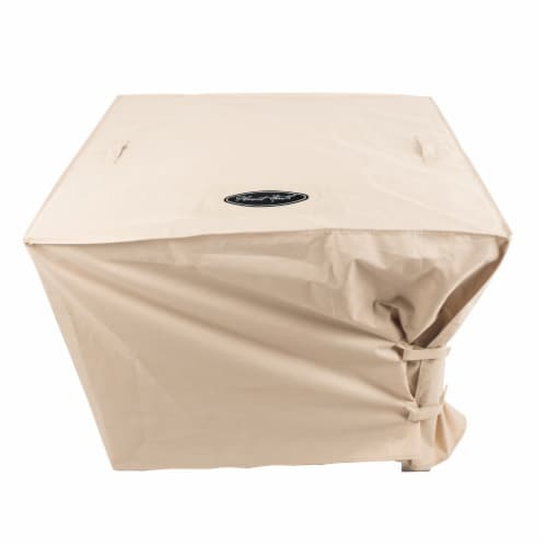 Pleasant Hearth Large Square Fire Pit Cover Perspective: front