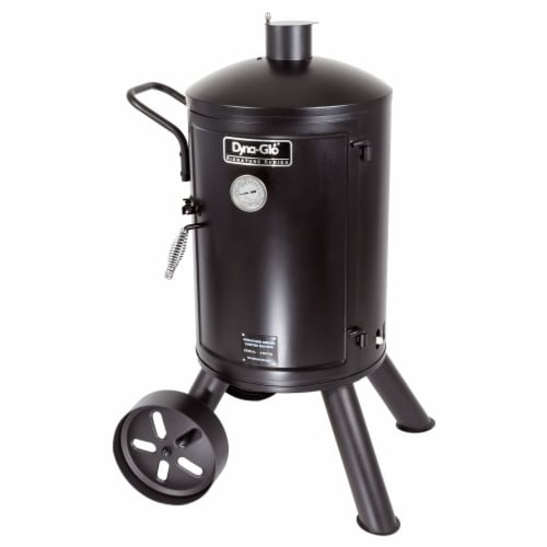 Dyna-Glo Signature Series Heavy-Duty Vertical Charcoal Smoker Perspective: front