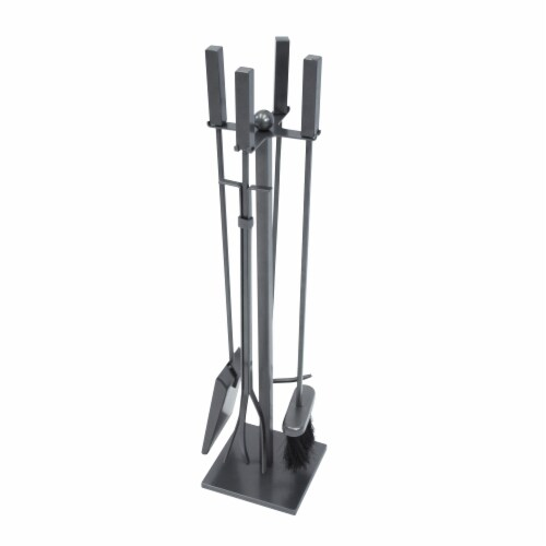 Pleasant Hearth Atticus Fireplace Tool Set Perspective: front