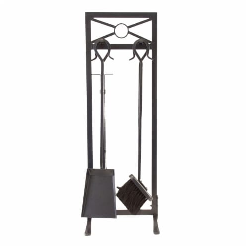 Pleasant Hearth Sheffield Fireplace Tool Set Perspective: front