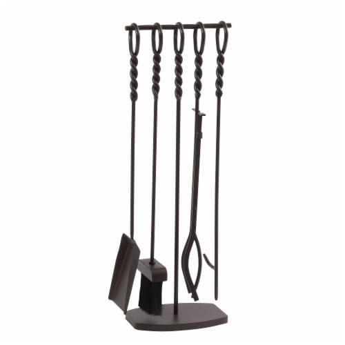 Pleasant Hearth Waverly Fireplace Tool Set Perspective: front