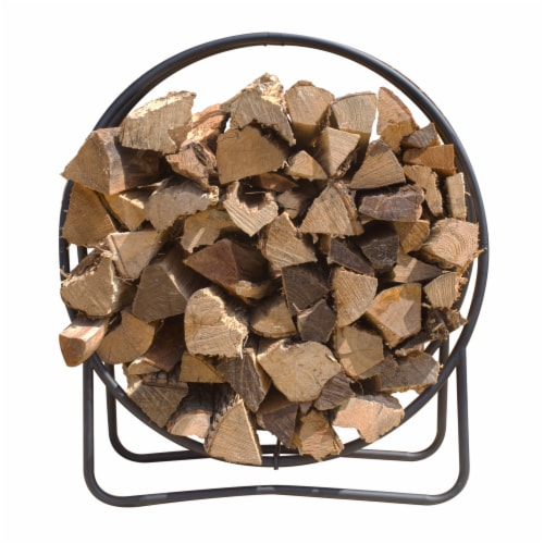 Pleasant Hearth Log Hoop Perspective: front