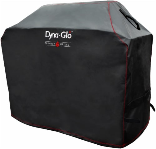 Dyna-Glo 4 Burner Premium Gas Grill Cover Perspective: front