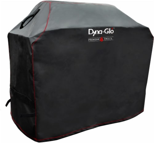 Dyna-Glo Premium 5-Burner Gas Grill Cover Perspective: front