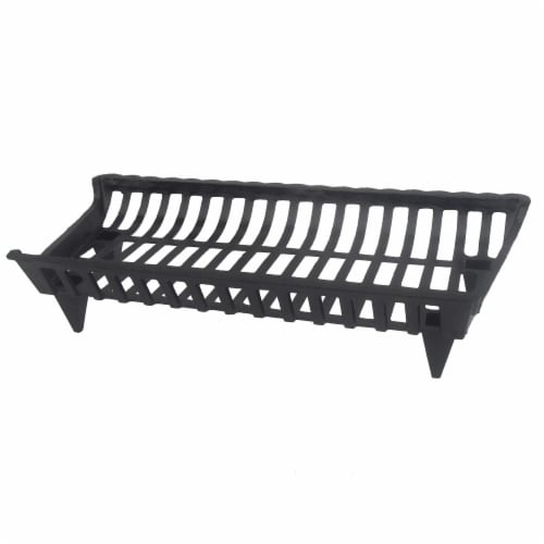 Pleasant Hearth Cast Iron Grate Perspective: front
