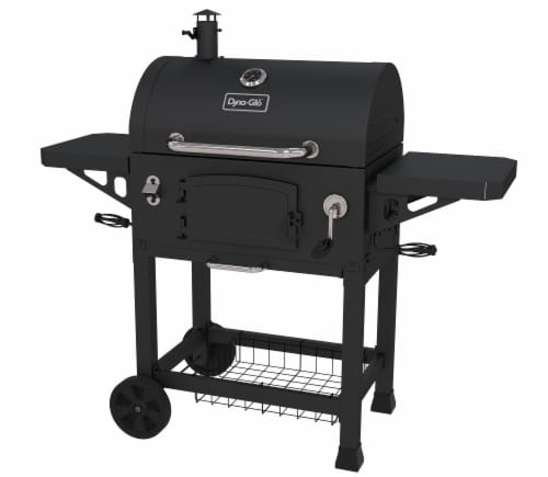 Dyna-Glo Large Heavy-Duty Charcoal Grill Perspective: front