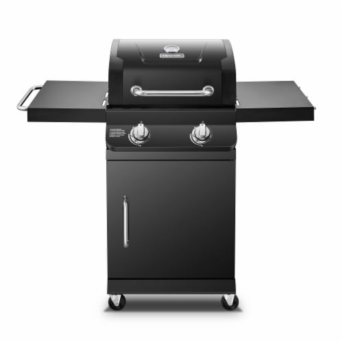 Dyna-Glo Premier 2-Burner Propane Gas Grill Perspective: front