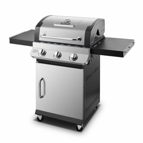 Dyna-Glo Premier 3-Burner Propane Gas Grill Perspective: front