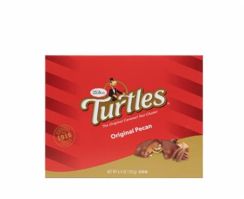 DeMet's Original Turtles Pecan Caramel Nut Clusters Perspective: front