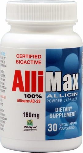Allimax  Allicin Perspective: front