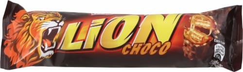 Nestle Lion Chocolate Bar Perspective: front