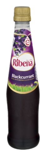 Ribena Blackcurrant Soda Perspective: front